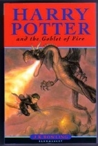 Harry Potter and the Goblet of Fire. UK first edition, 1st print
