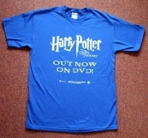 Harry Potter & the Order of the Phoenix Rare Promo T-Shirt