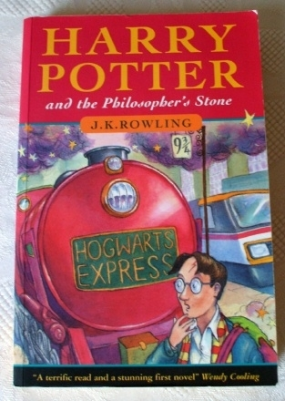 Harry Potter and the Philosopher's Stone 1997 First Edition.