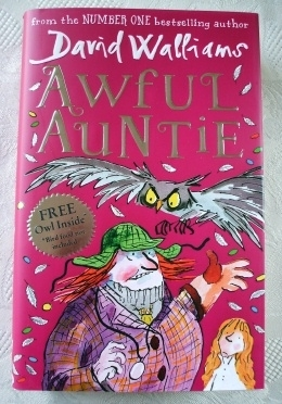 David Walliams Awful Auntie Hardback First Edition, 1st Printing