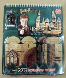 KLUTZ Build Your Own Hogwarts Construction Cards Harry Potter