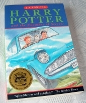 Harry Potter & the Chamber of Secrets UK Paperback 1st Ed 1998