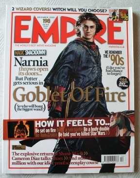 Empire Magazine #198 Harry Potter and the Goblet of Fire. Dec 05