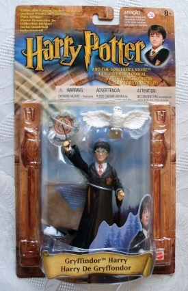 Harry Potter Mattel (52663-0981) Gryffindor Harry Figure 2001