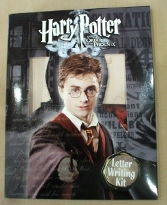 Ultra Rare! Harry Potter Letter Writing Kit