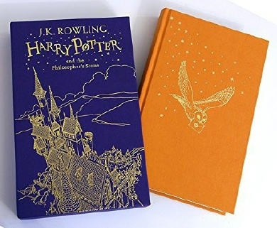 Harry Potter Philosopher's Stone. UK Boxed Gift Edition First Ed