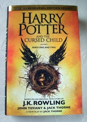 Harry Potter & the Cursed Child. First Edition, 1st printing UK